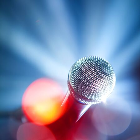 glamour microphone photo