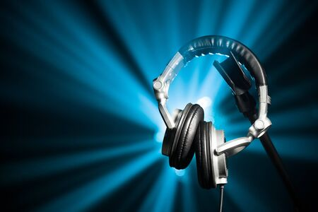 dj headphones photo