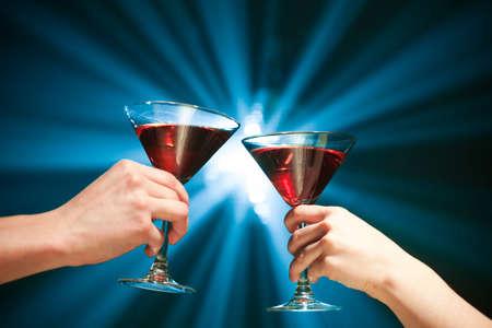 cocktail toast Stock Photo - 6929898