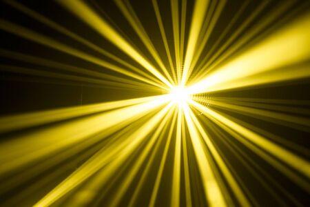 yellow disco lights photo
