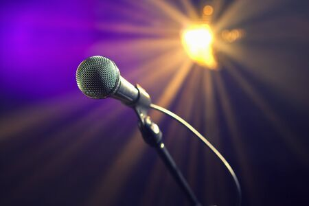 karaoke microphone photo