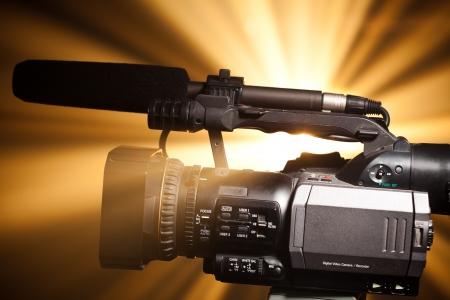 sucher: professionelle Video-Kamera  Lizenzfreie Bilder