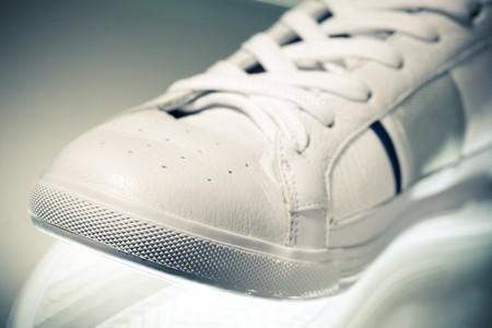 sport shoe: sport shoe, closeup