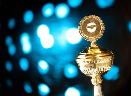 gold trophy Stock Photo - 7217510