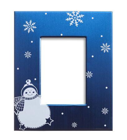 newyear card: christmas photo frame
