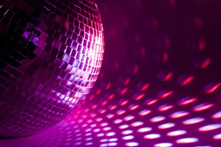 purple disco background photo