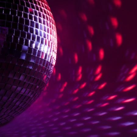 purple disco background Stock Photo - 7962711