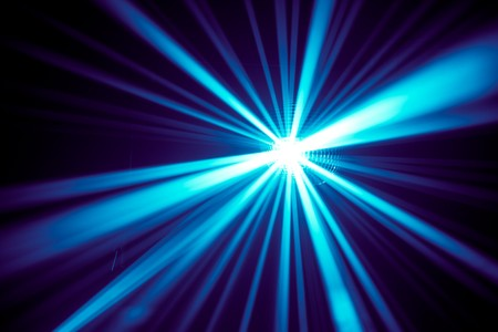 blue rays photo