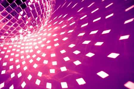 abstract dance: disco background