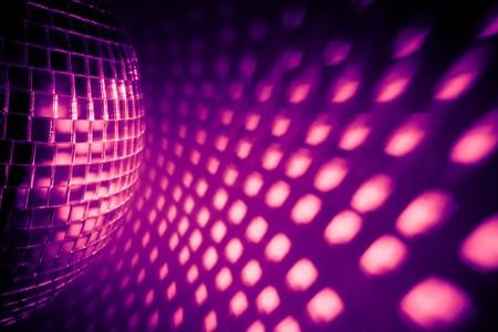 disco backdrop: purple disco backdrop