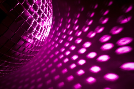 purple disco background photo