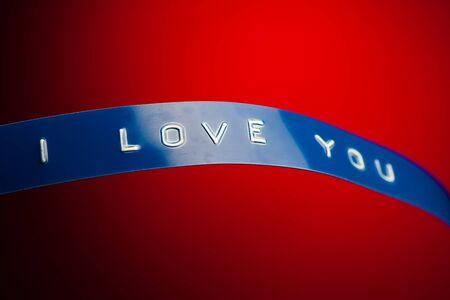 i love you card Stock Photo - 8835602