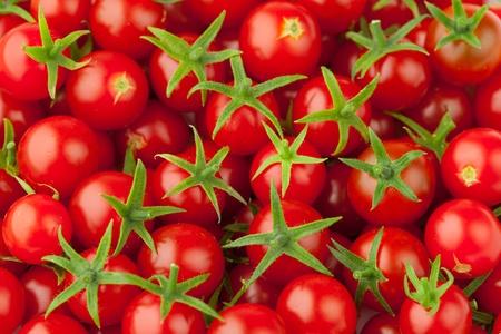 moltitudine: moltitudine di pomodorini, Close-up view Archivio Fotografico