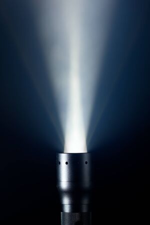 defuse: beam of defuse light in the fog