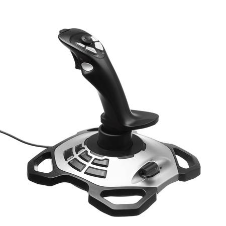 gamepad: gamepad joystick isolated on white Stock Photo