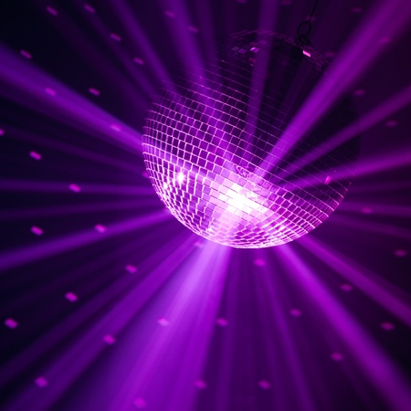 violet party background Stock Photo - 9435167