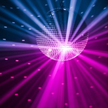 fiestas discoteca: Fondo de luces de parte Foto de archivo