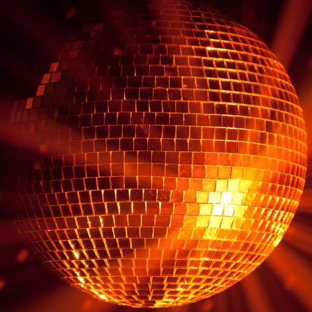 party lights disco ball photo