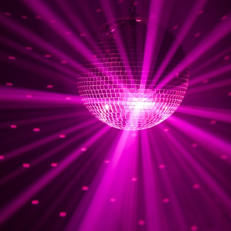 purple party background Stock Photo - 9523674