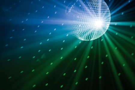 colourful ball: party lights