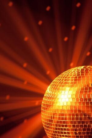 disco party background Stock Photo