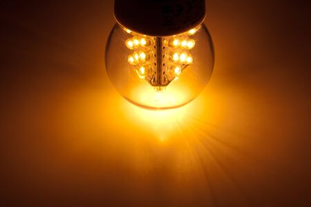 led bulb light Stock Photo - 9523770