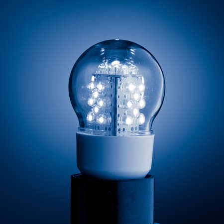 led bulb light Stock Photo - 9568829