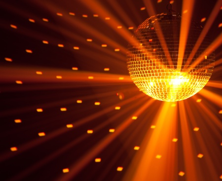 disco backdrop: party lights background Stock Photo