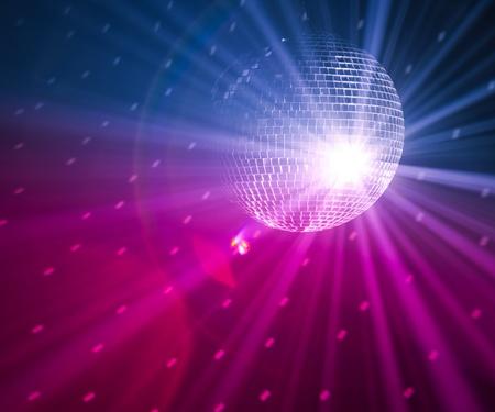 fiestas discoteca: luces de parte