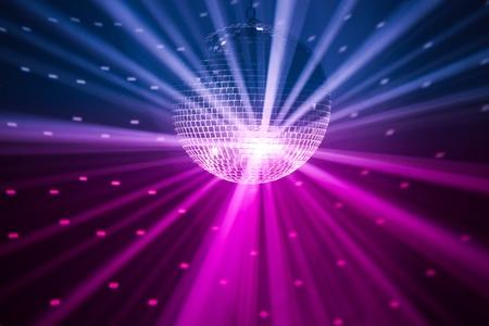 disco parties: Fondo de luces de parte Foto de archivo