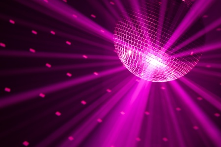 discos: party lights background Stock Photo