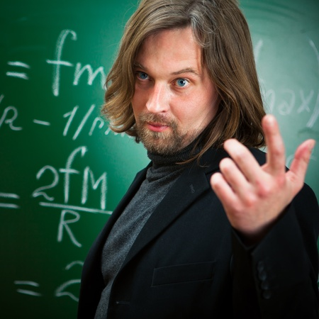 profesor: hablando de profesor