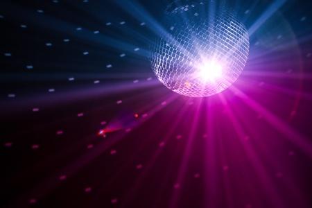 party dj: Fondo de luces de fiesta