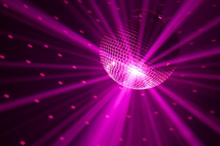 discoball: purple party lights background