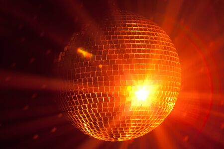 party lights disco ball photo