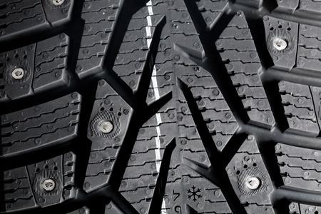 Winter thorn tire texture Stock Photo - 12339229