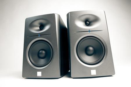 highend: monitor audio da studio - altoparlanti high-end audio Archivio Fotografico