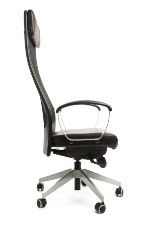 office armchair isolated on white Stock Photo - 12701686