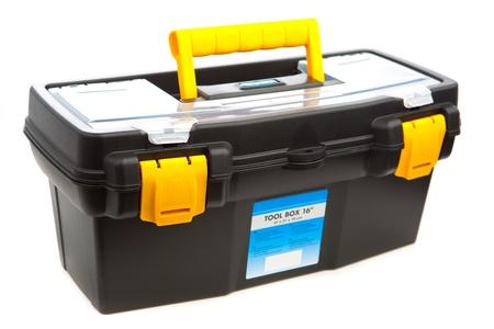 tool box isolated on white photo