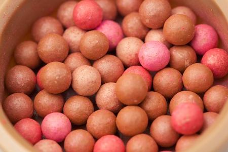 blusher: cosmetics rouge blusher ball
