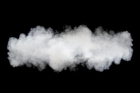 abstract smoke: smoke cloud background on black