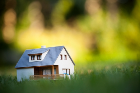 house on green Stock Photo - 15754892