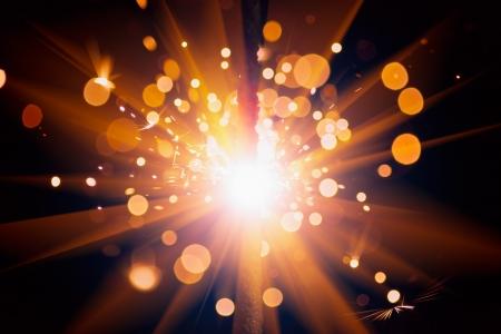 festive sparks background