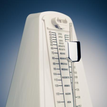 exactness: music metronome