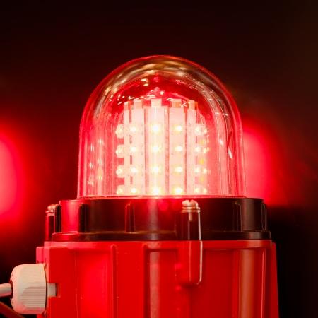 warning system: signal led lamp