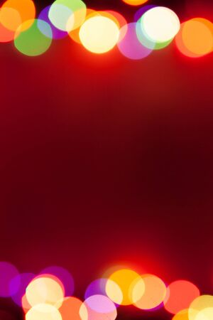 bokeh lights with copy-space photo