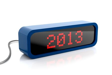 Led display of 2013 year Stock Photo - 16906219