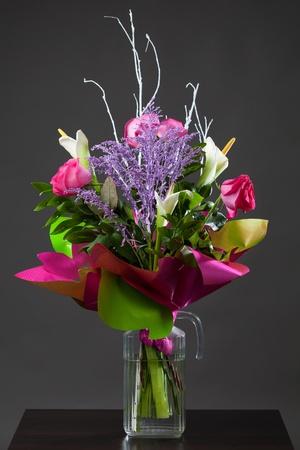 floral arrangements: bouquet of  flowers Stock Photo