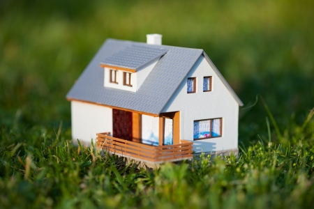 house on green Stock Photo - 17275353
