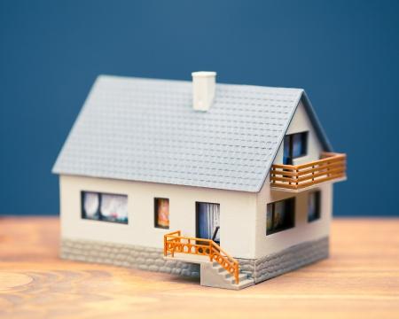 Model house insulation